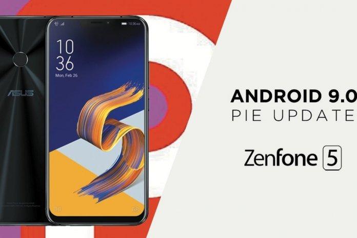 Asus Zenfone 5 Lite Android Pie