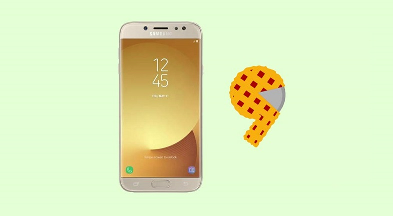 Galaxy J7 Pro Android Pie