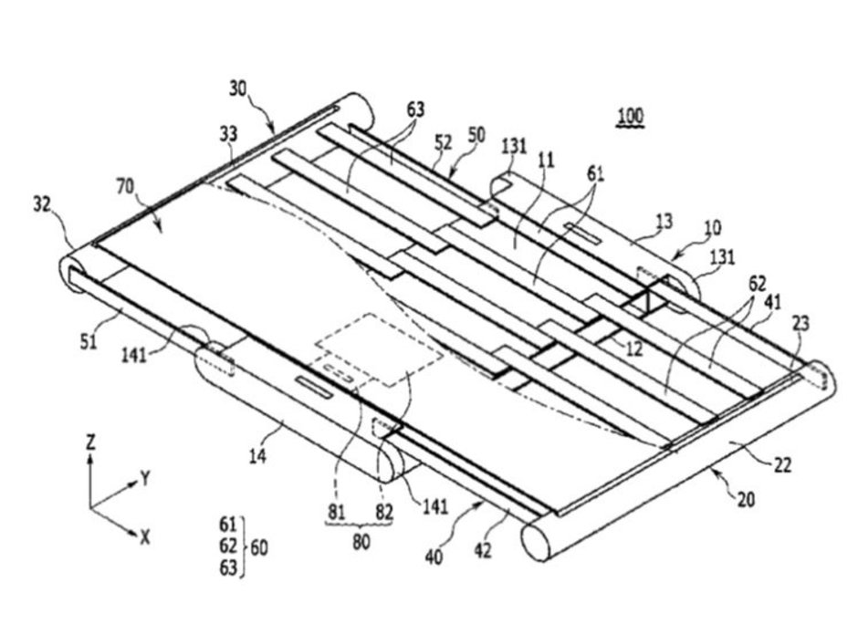 Sony Yuvarlanabilir Ekranlı Telefon