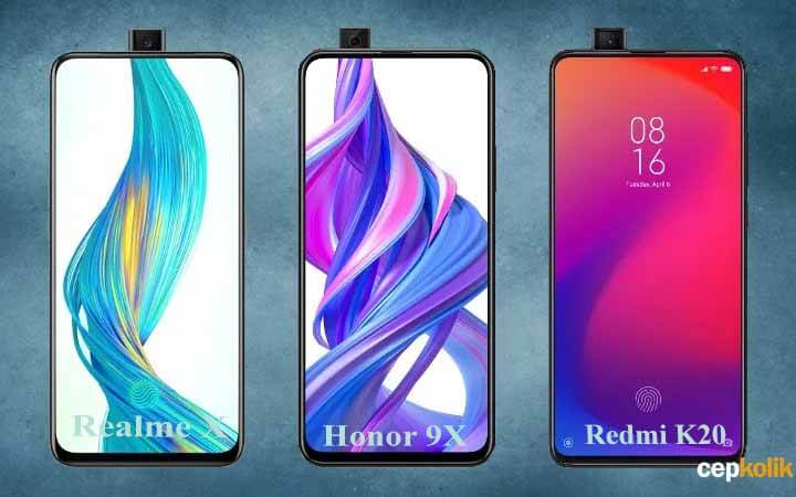 Honor 9X vs Redmi K20 vs Realme X Karşılaştırması