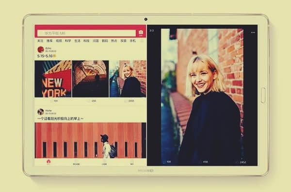 Huawei MediaPad M6 Parelel Görünüme İzin Verecek!