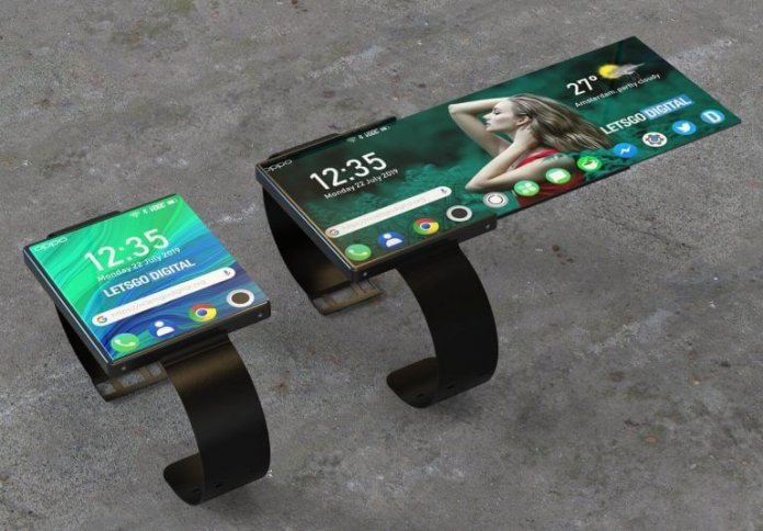 Oppo Katlanabilir Akıllı Saat için Patent Aldı!