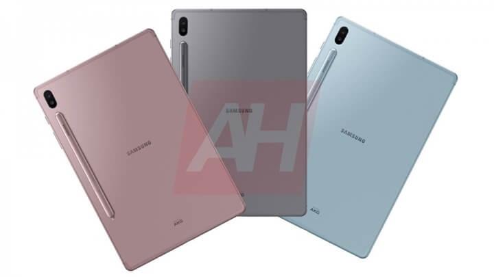 Samsung Galaxy Tab S6 Teknik Çizimleri Ortaya Çıktı!