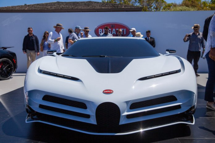Özel Seri Bugatti Centodieci Tanıtıldı