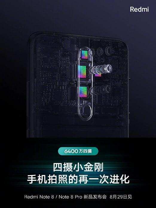 Redmi Note 8 Tanıtım Posterleri Yayınlandı!