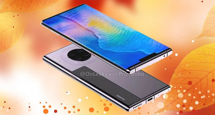 Huawei Mate 30 Pro Teknik Çizimleri ve Bazı Özellikleri Sızdırıldı!