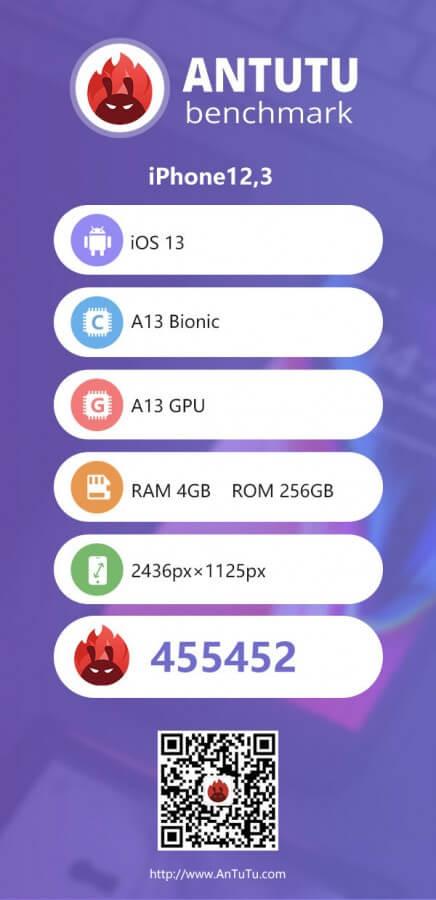 iPhone 11 Serisinin AnTuTu Sonuçları Yayınlandı!