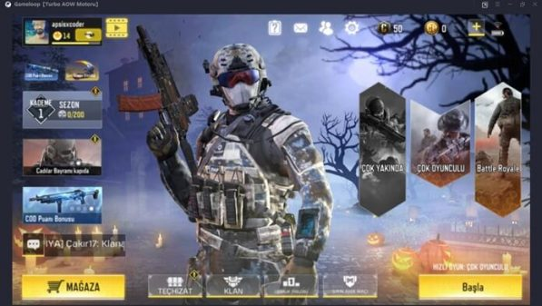 Call of Duty Mobile Bilgisayardan Nasıl Oynanır?
