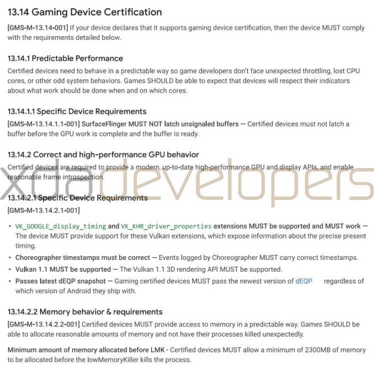 Google Oyun Telefonları için Sertifika Programı Geliştiriyor!