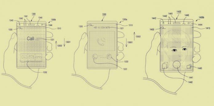 Samsung Esnek Ekranlı Yeni Bir Telefon Üzerinde Çalışıyor!