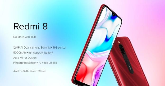 Xiaomi Redmi 8 Tanıtıldı - Fiyatı ve Özellikleri