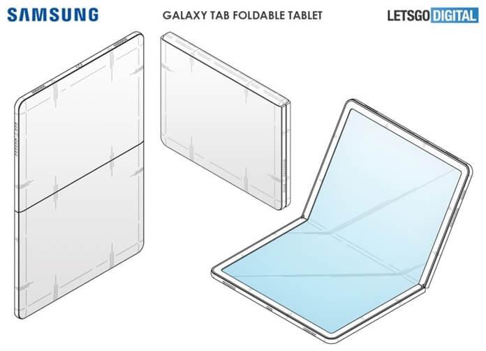 Katlanabilir Samsung Galaxy Tablet Patenti Ortaya Çıktı!
