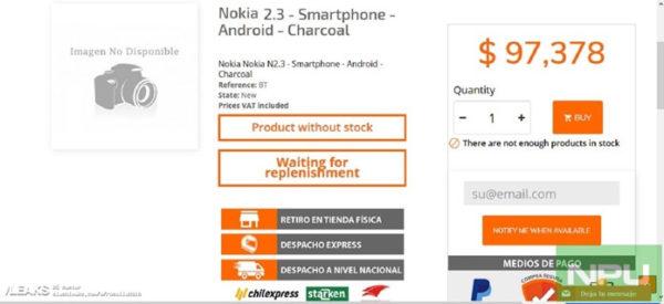 Nokia 2.3 Fiyatı Sızdırıldı!
