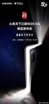 Samsung W20 5G Çıkış Tarihi Açıklandı!