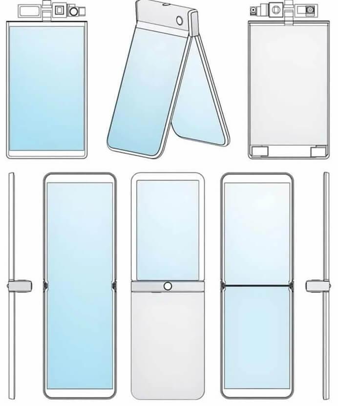 Motorola RAZR 2020'ye Dair Bir Patent Ortaya Çıktı! Tasarımı İnanılmaz!