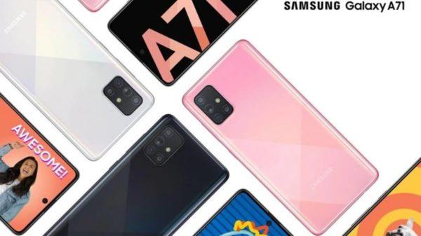 Samsung Galaxy A71 Tanıtıldı - Fiyatı ve Özellikleri