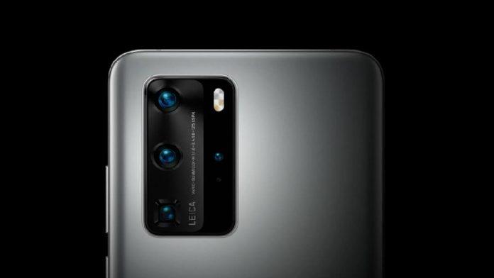 Huawei P40 kamera puani