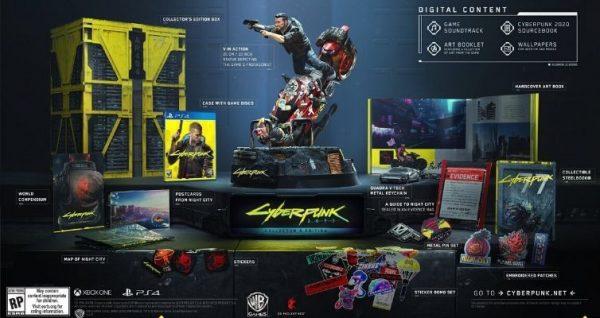 Cyberpunk 2077 Collector's Edition Fiyatı Açıklandı