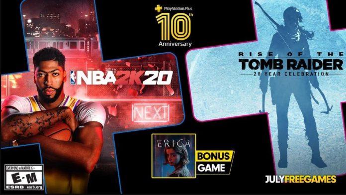 PlayStation Plus Temmuz Oyunları