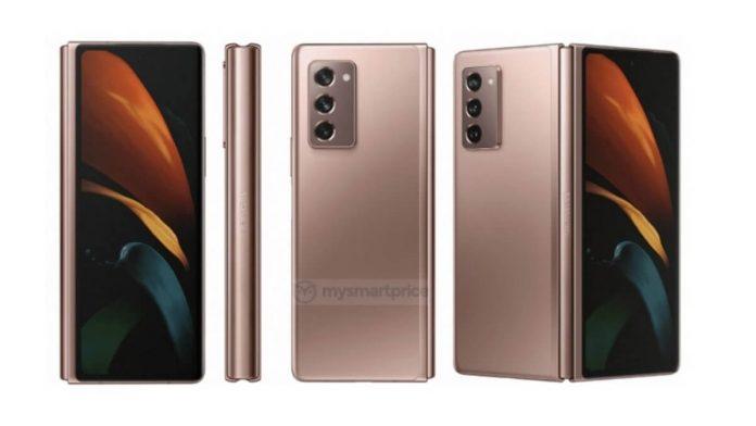 Samsung Galaxy Z Fold 2 5G render