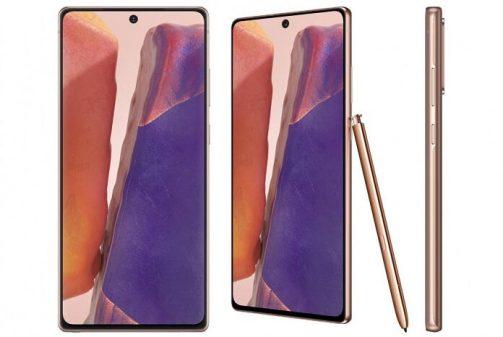 Galaxy Note 20 fiyatı ve ozellikleri