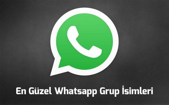 Whatsapp komik grup isimleri