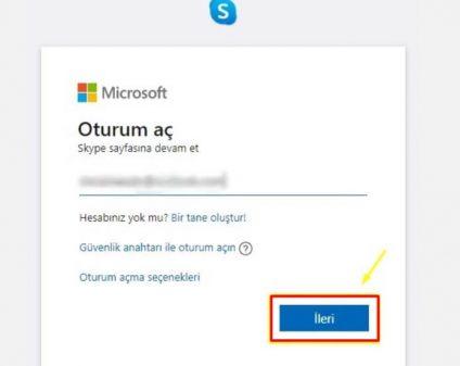 Skype hesabini dondurma
