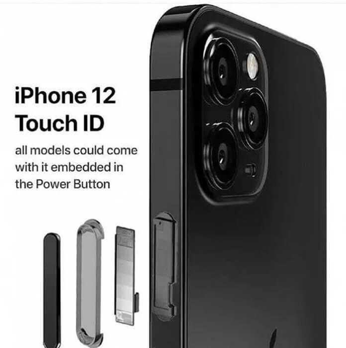 Apple iPhone 12 Parmak İzi Sensörü ile Gelecek