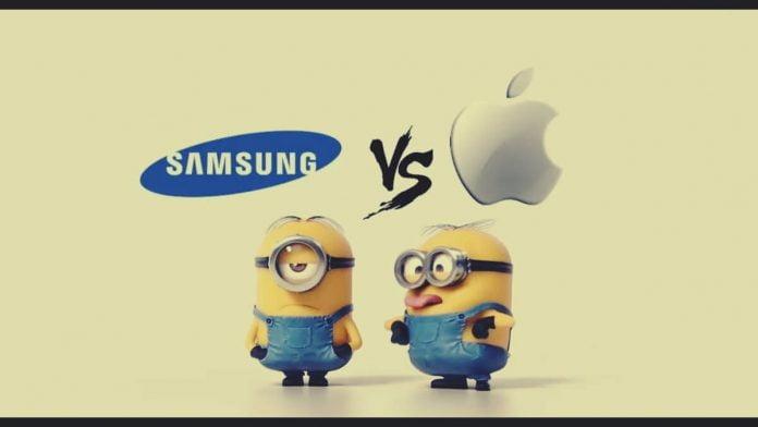 Samsung Apple ile Dalga Geçiyor