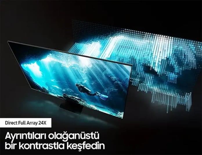 Samsung Blue QLED