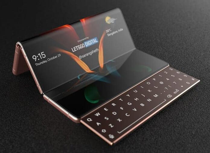 Samsung Galaxy Z Fold 3 Benzersiz Tasarıma Sahip Olabilir