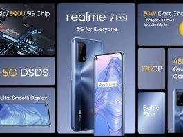 Realme 7 5G Tanıtıltı - Özellikleri