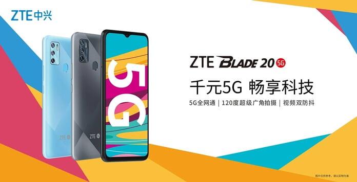 ZTE Blade 20 5G Tanıtıldı - Fiyatı ve Özellikleri