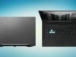 Asus TUF Gaming Dash F15 Tanıtıldı