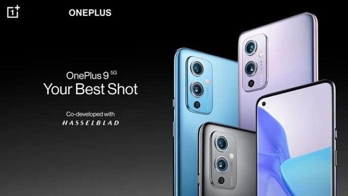 OnePlus 9 dış
