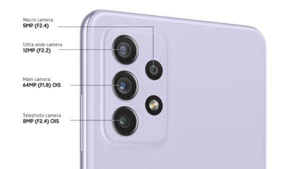 Samsung Galaxy A72 dıs