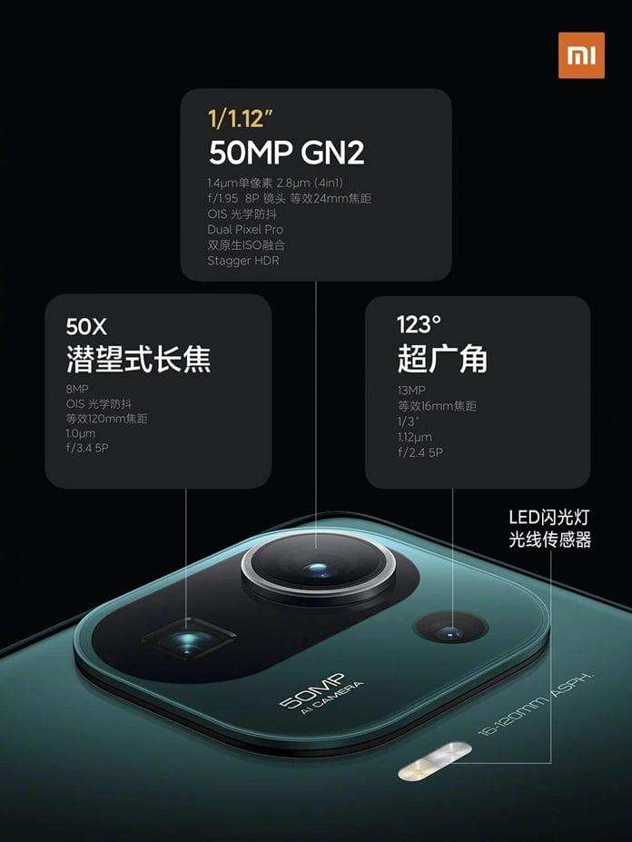 Xiaomi Mi 11 Pro ic