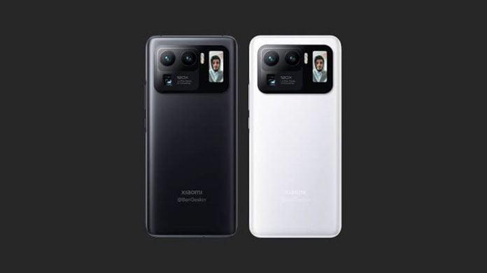 Xiaomi Mi 11 Ultra, dış