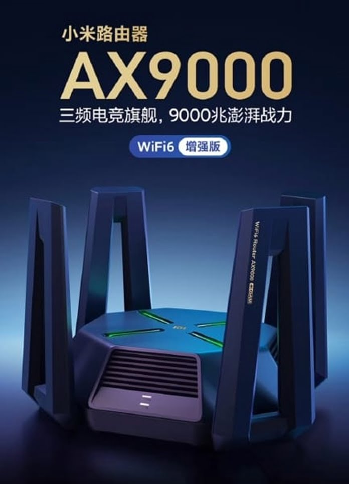 Xiaomi Tri-Band Mi AX9000
