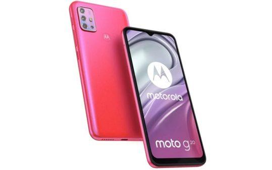 Motorola Moto G20'nin Tic
