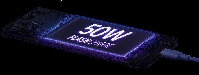 OPPO 50W Hızlı Şarj5 Dakikalık Şarj, 3,5 Saat Video Oynatma