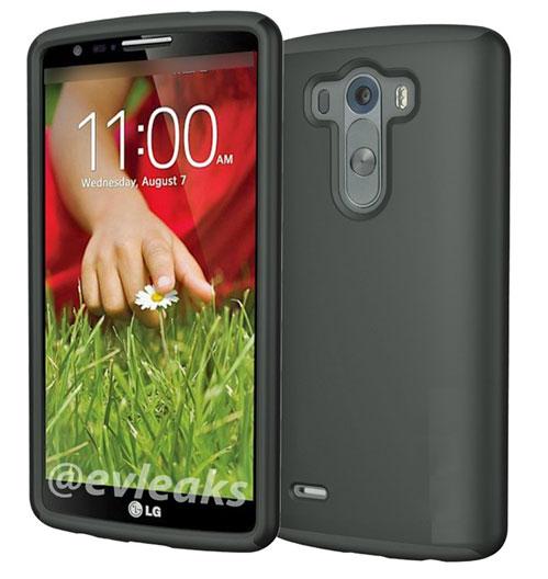 LG G3'ten yeni fotoğraf sızdı