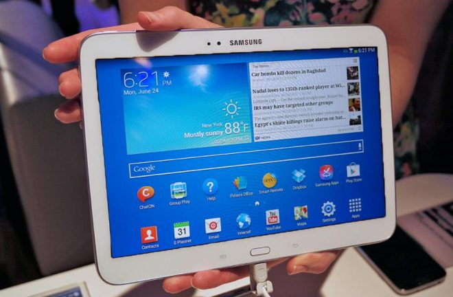 Galaxy Tab S ekranı ile dikkat çekiyor