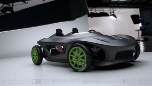 Local Motors 3D Yazıcı İle Araba Üretecek!