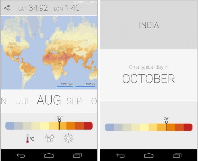 Microsoft Android için iklim uygulaması yayınladı