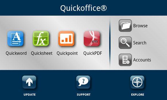 QuickOffice çok yakında tarih oluyor