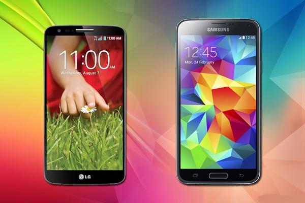 Samsung-Galaxy-S5-vs-LG G2-inceleme