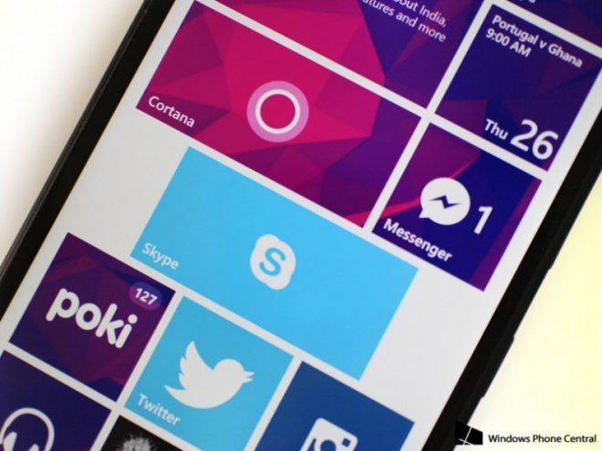 Skype Windows Phone İçin En Çok Beklenen Özellik İle Güncellendi
