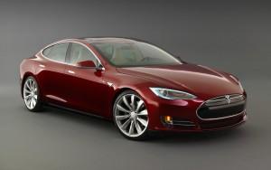 Tesla-Model-S-burgondy