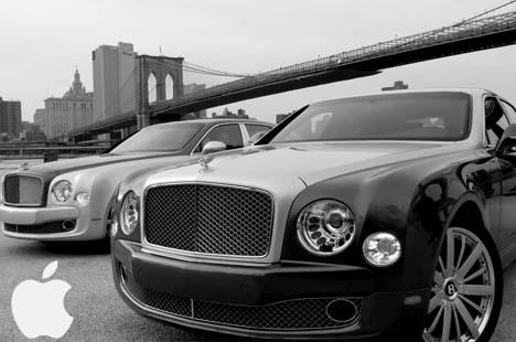 Bentley'de O Kervana Katıldı!